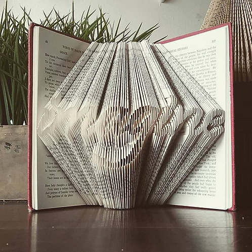 Folded Book - Imagine
