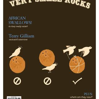 Very Small Rocks Magazine Layout