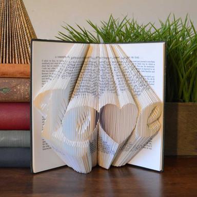 Folded Book - Love