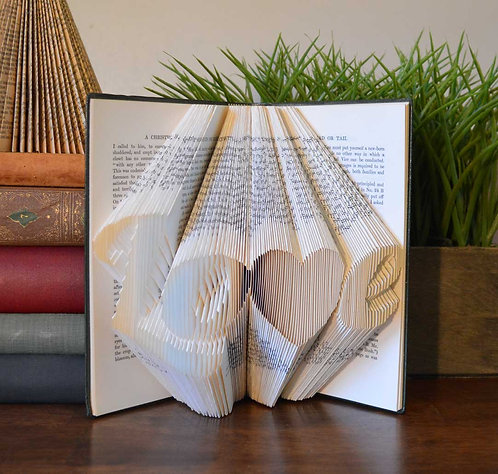 Folded Book - Love