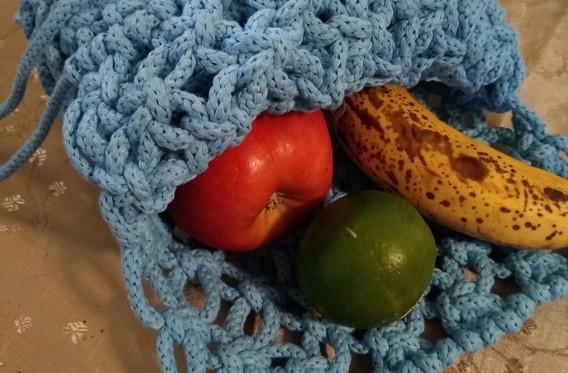 produce bag closeup