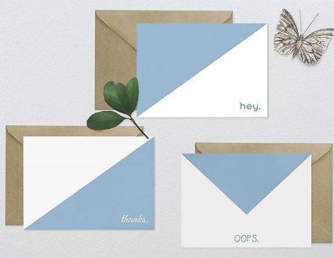 Set of 6 Note Cards - Original Designs - Fun!