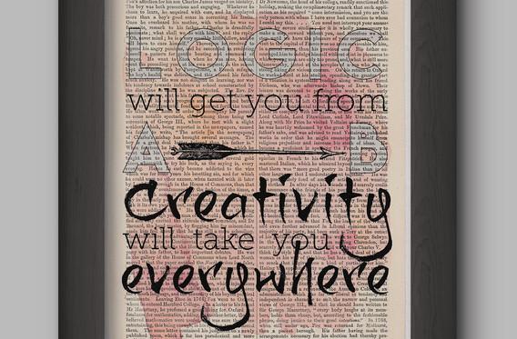 logic book page print