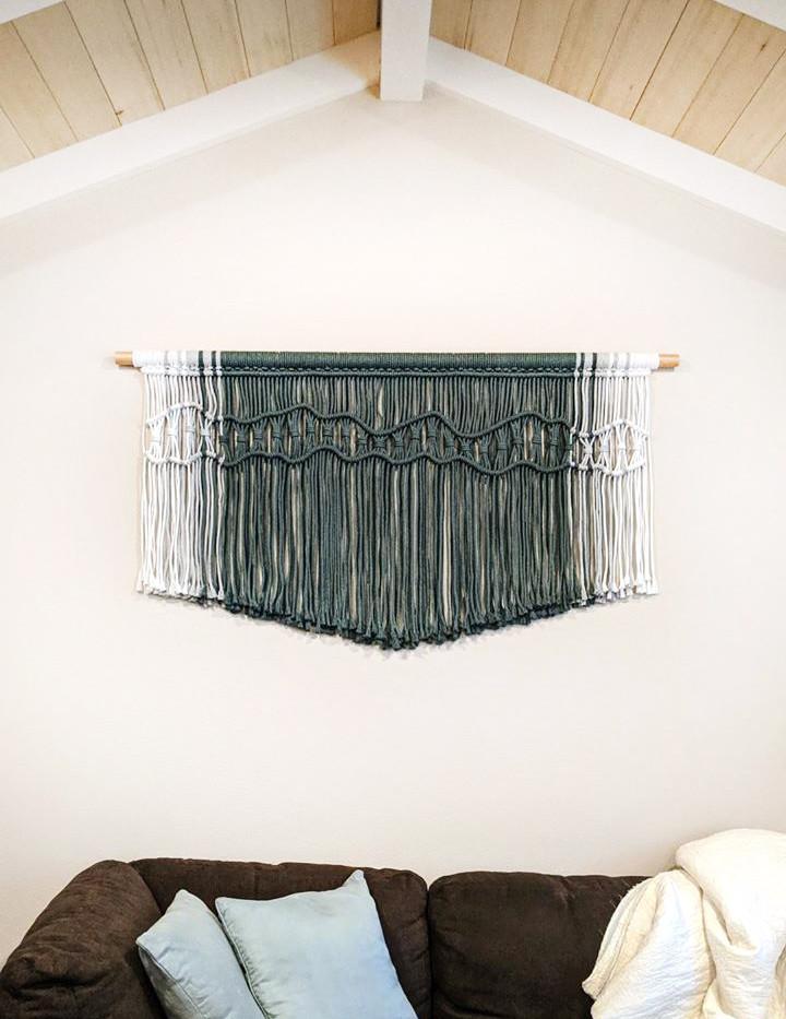 bailey macrame wall hanging