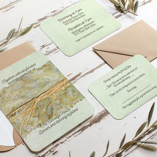 Wedding Invitation - Seafoam