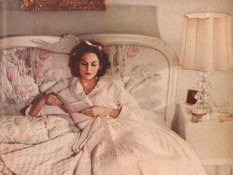 Vintage Loungewear Retrospective for The Vintage Woman Magazine