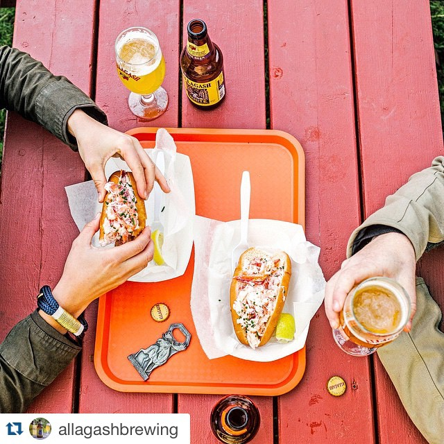 #Repost _allagashbrewing ・・・_We're pretty sure there is an old old Maine state law that states if yo