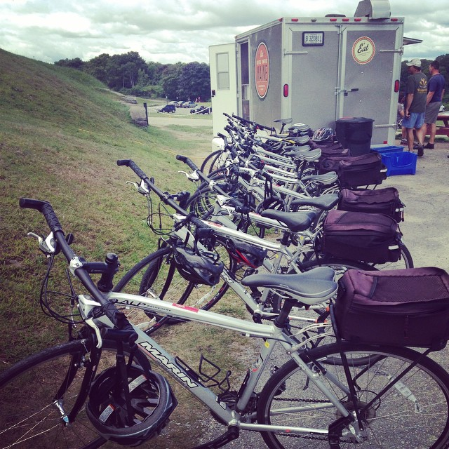 Instagram - Summerfeet bikesined up for their lobster roll lunch @biteintomaine! #maine #lighthouses