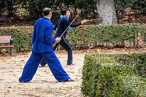Tai Chi Sword Lesson