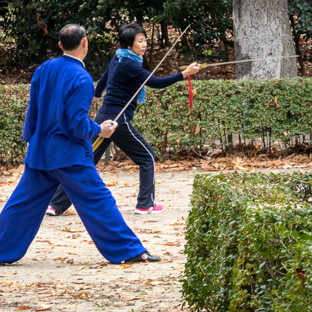 Tai chi is NOT for the old and frail!