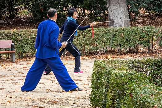 Tai Chi Sword Lesson
