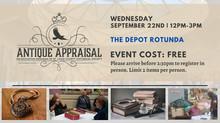 Antique Appraisals to Return! September 22, 2021