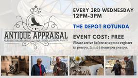Antique Appraisals! Upcoming Dates