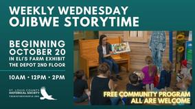 Weekly Wednesday Ojibwe Storytime - Beginning October 20, 2021