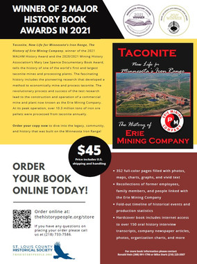 Taconite History Book Sales Flyer