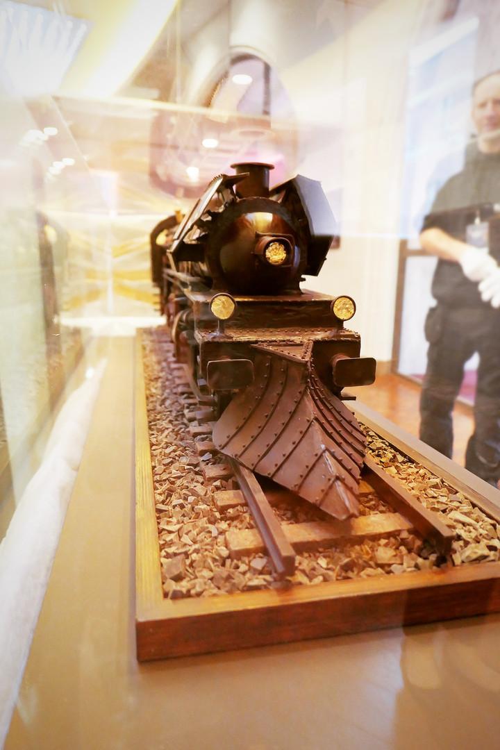 Chocolate Train at London Premiere