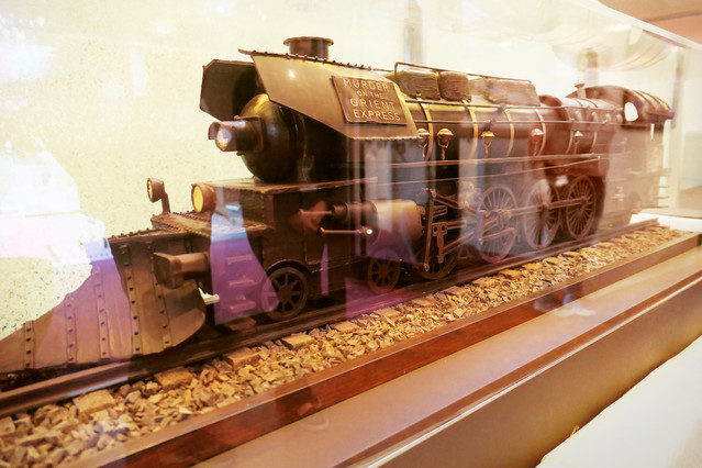 Chocolate Train at London Premiere