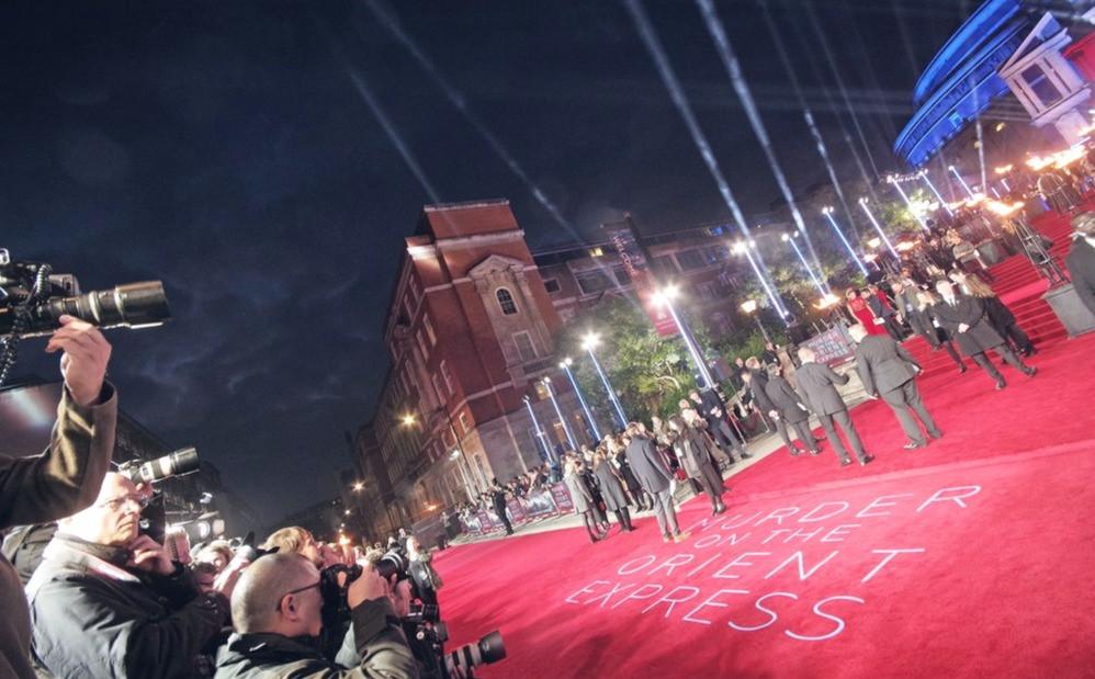 London Premiere Red Carpet