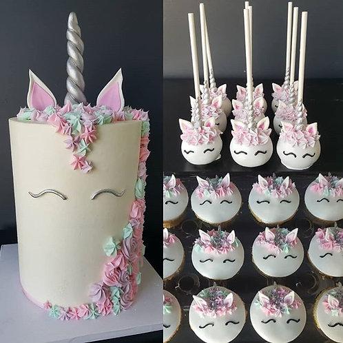 Unicorn Crown Cake