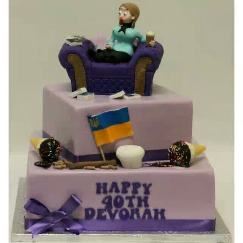 Relax With a Cake