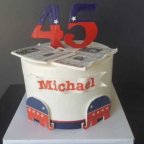 Politics Cake