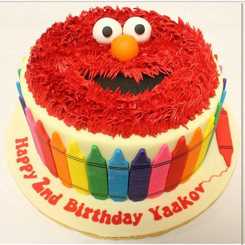 Elmo Bake