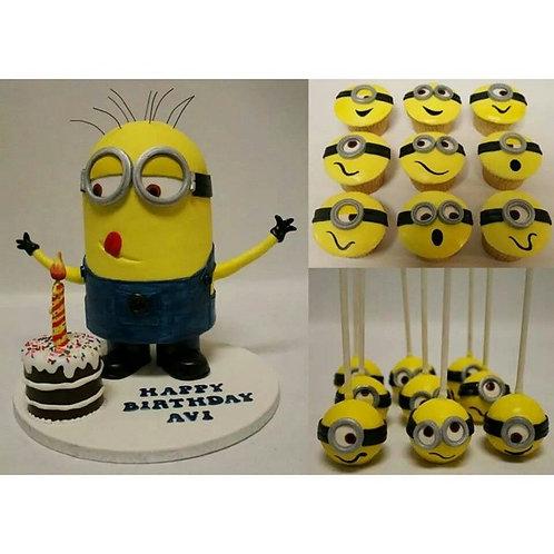 Minion Eat Cake