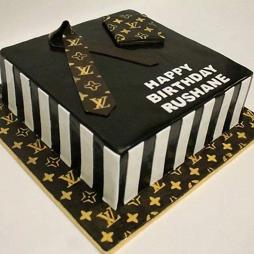 Louis V Cake