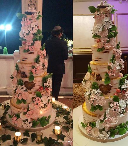 Bark Wedding Cake