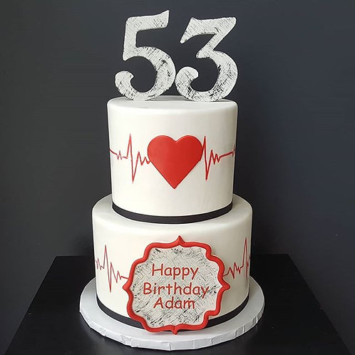 Heart Rate Cake