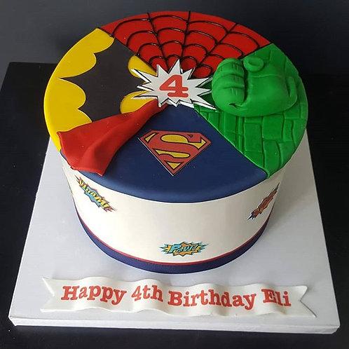 Superheroes Cakes
