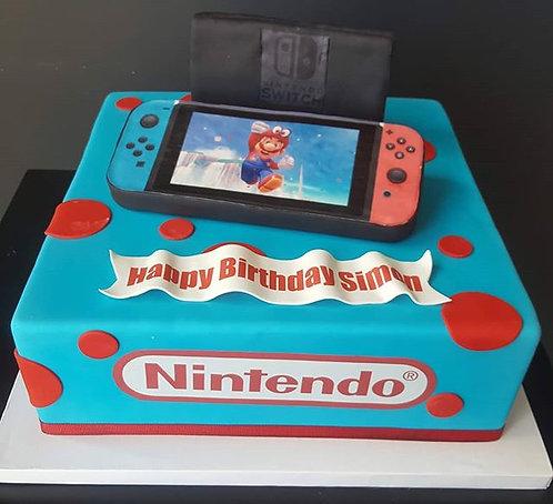 Mario Play Cake