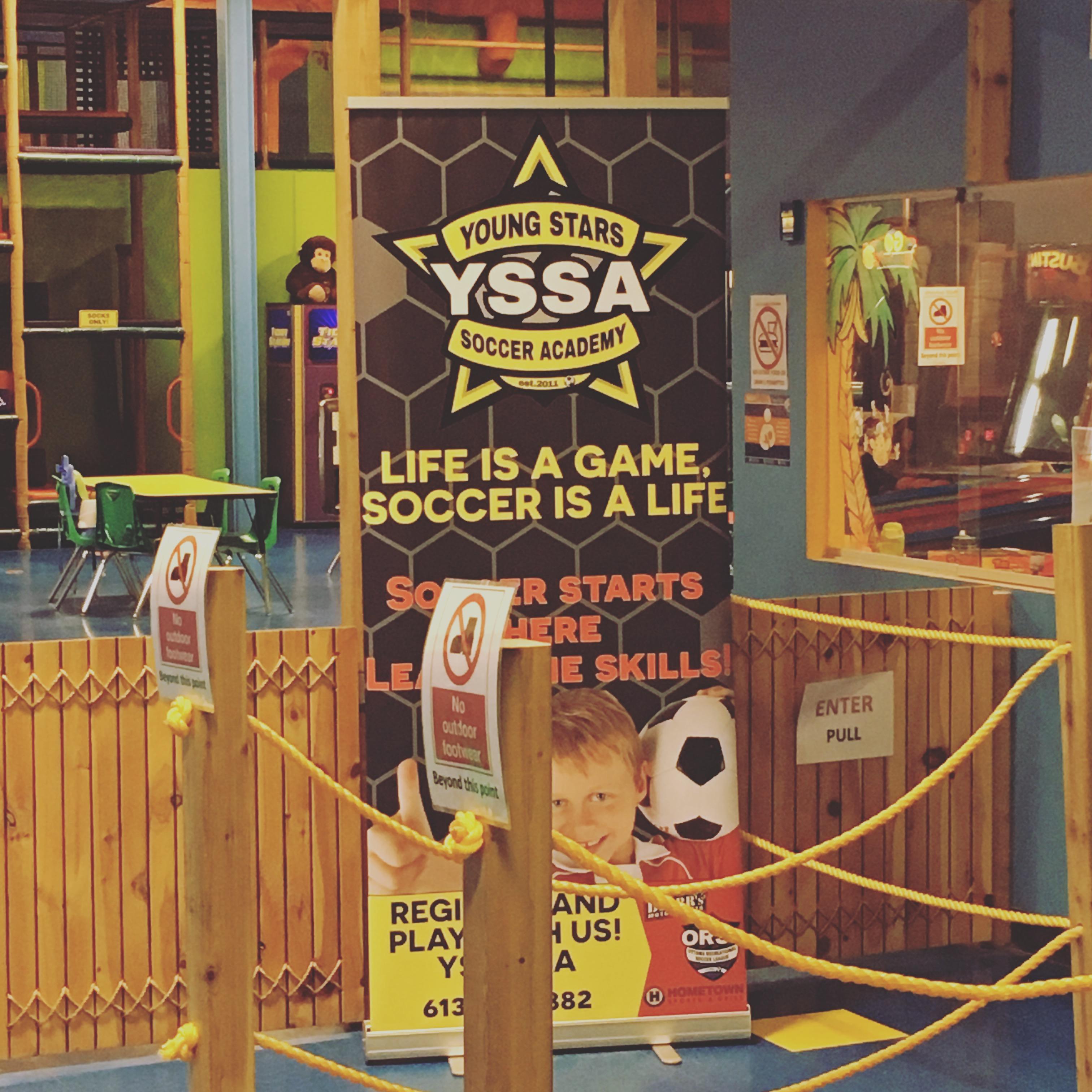 YSSA x Monkey Around