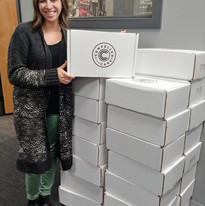 Krista is the heart behind The Care Box Project.