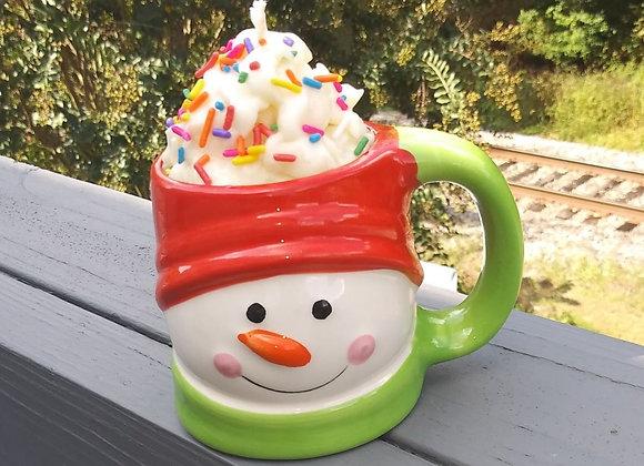 Holiday Mug Candles