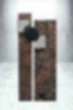 Grab Stele Granit Vulcano-Indisch Black Wien