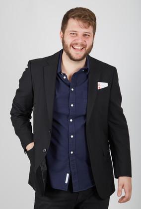 Professor Tony Sweetland wearing jacket