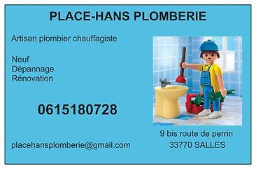 PLACE HANS PLOMBERIE - SALLES