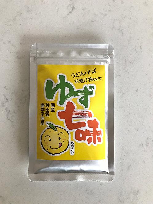 Yuzu Shichimi Togarashi(Yuzu Japanese seven spices chilli powder)25g (pouch)