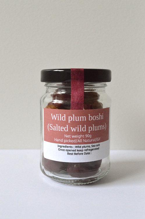 Wild Plum boshi (Salted wild plum) 90g