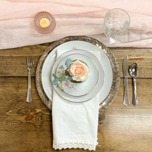 Tea Plates & Settings