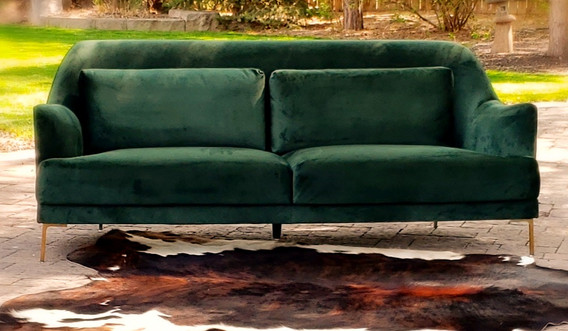 Emerald and Cannon Rug