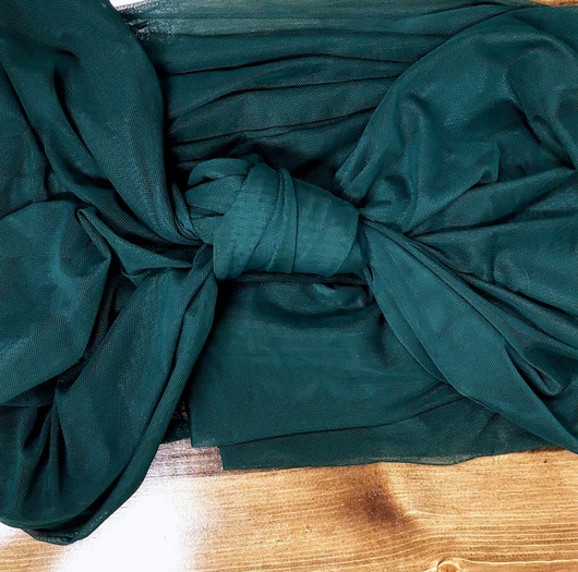 Table Scarf -Emerald Green