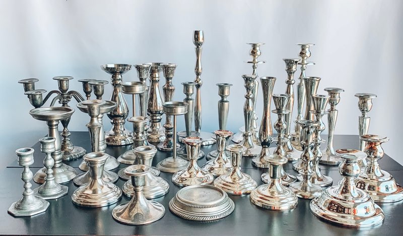 Silver Candleholder Collection.jpg
