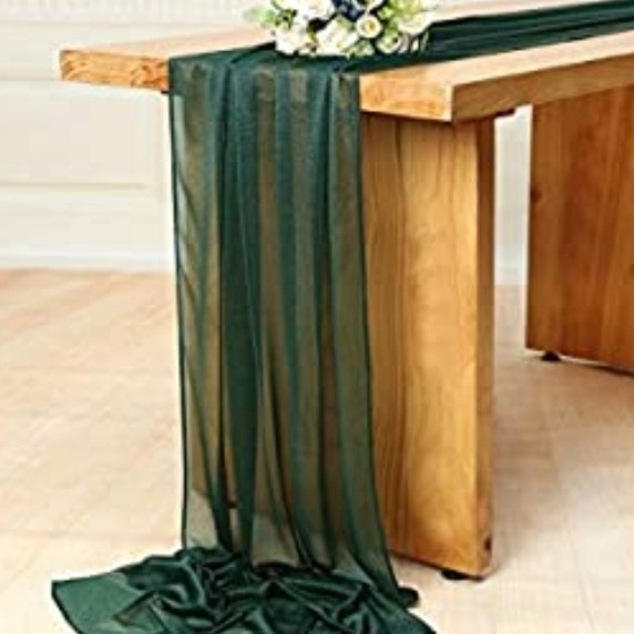 Table Scarf -Emerald