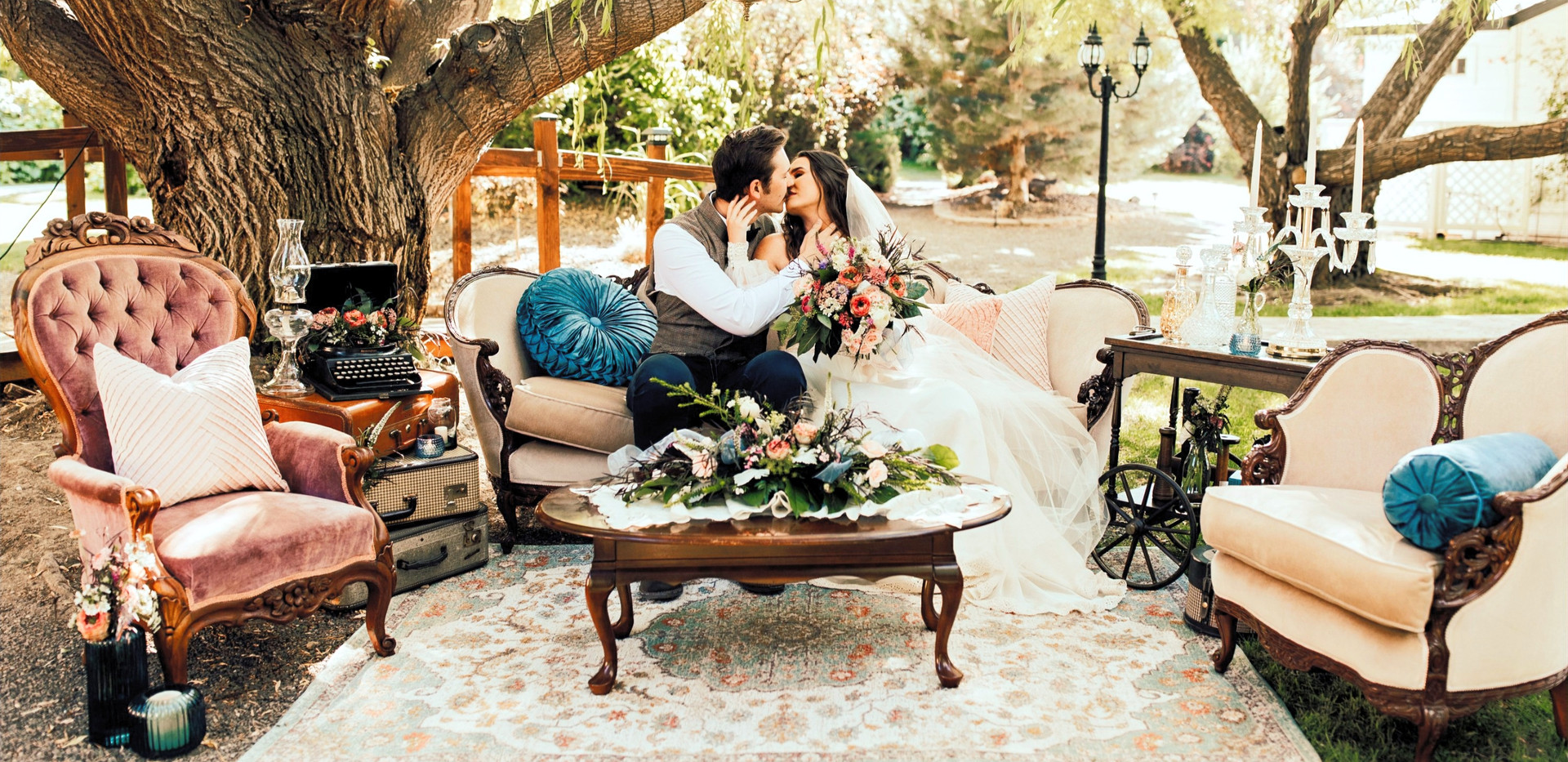Vintage Rose Styled Shoot