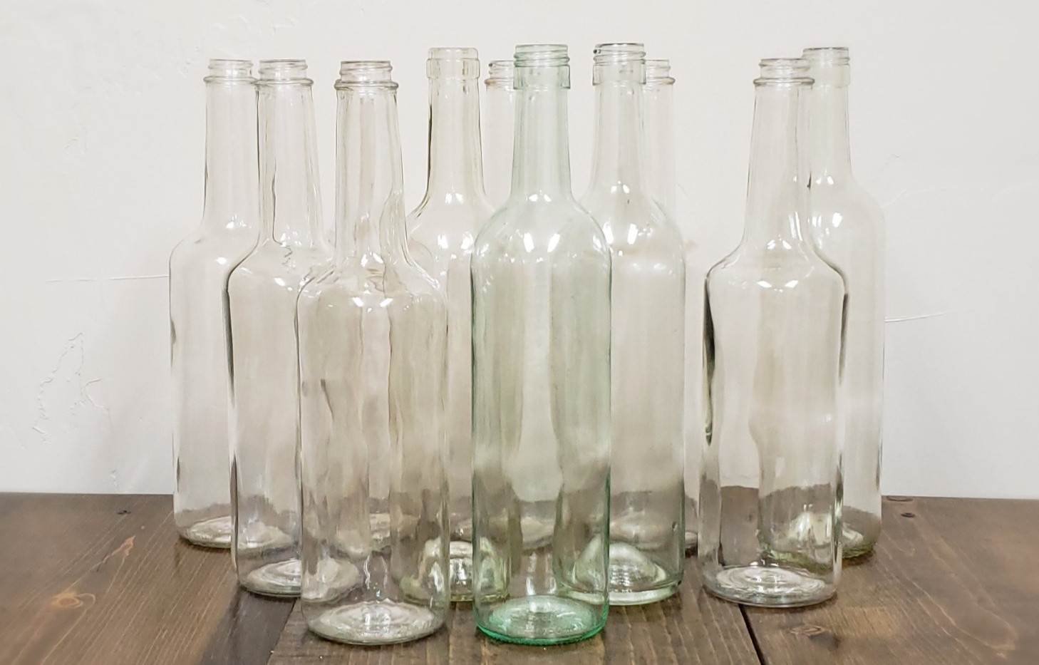 Clear Wine Bottles