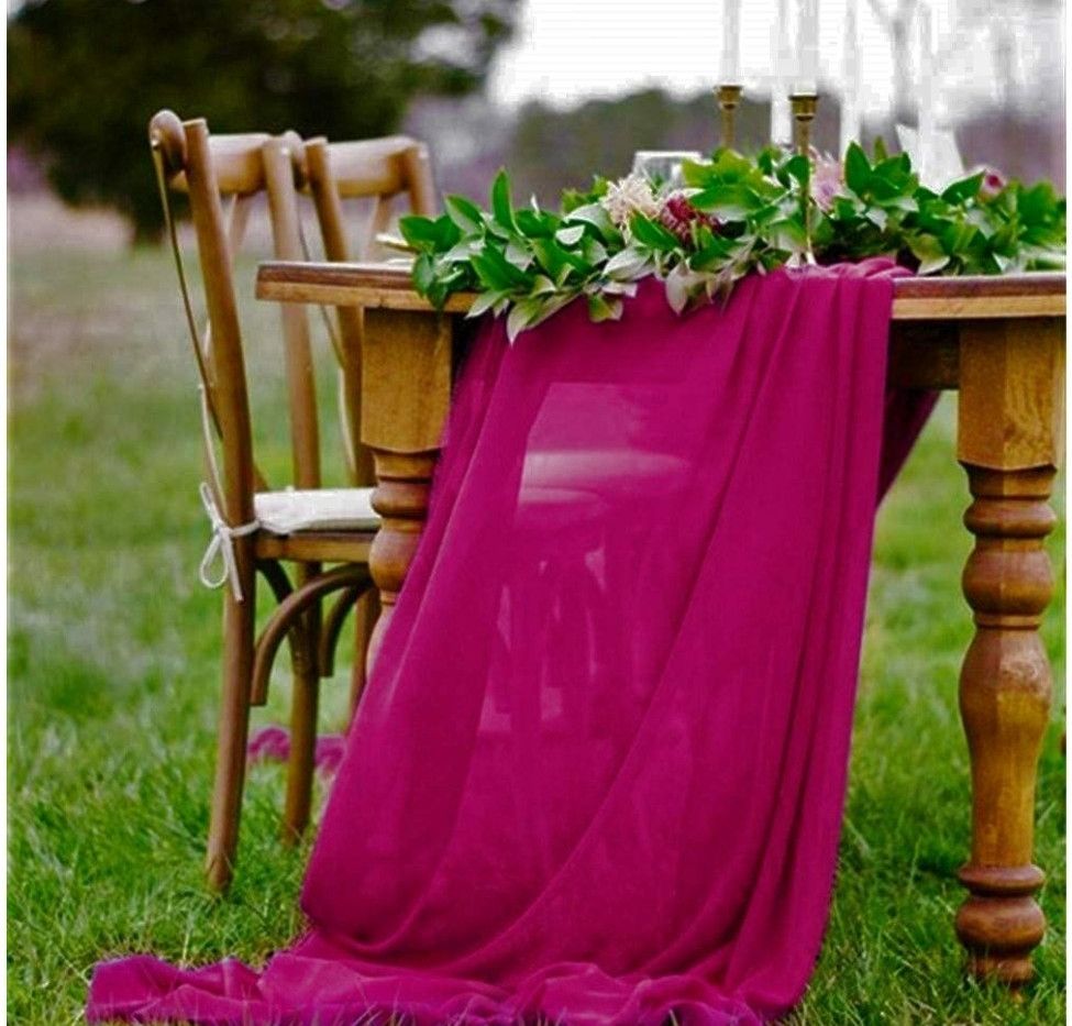 Table Scarf -Magenta