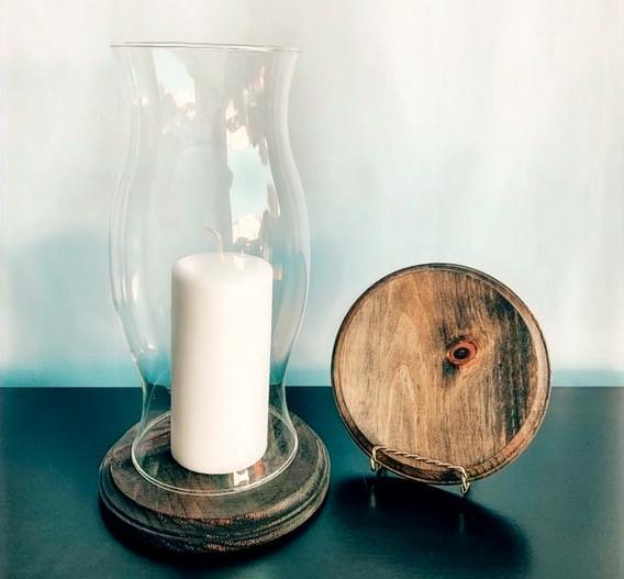 Desiree With Wood Base