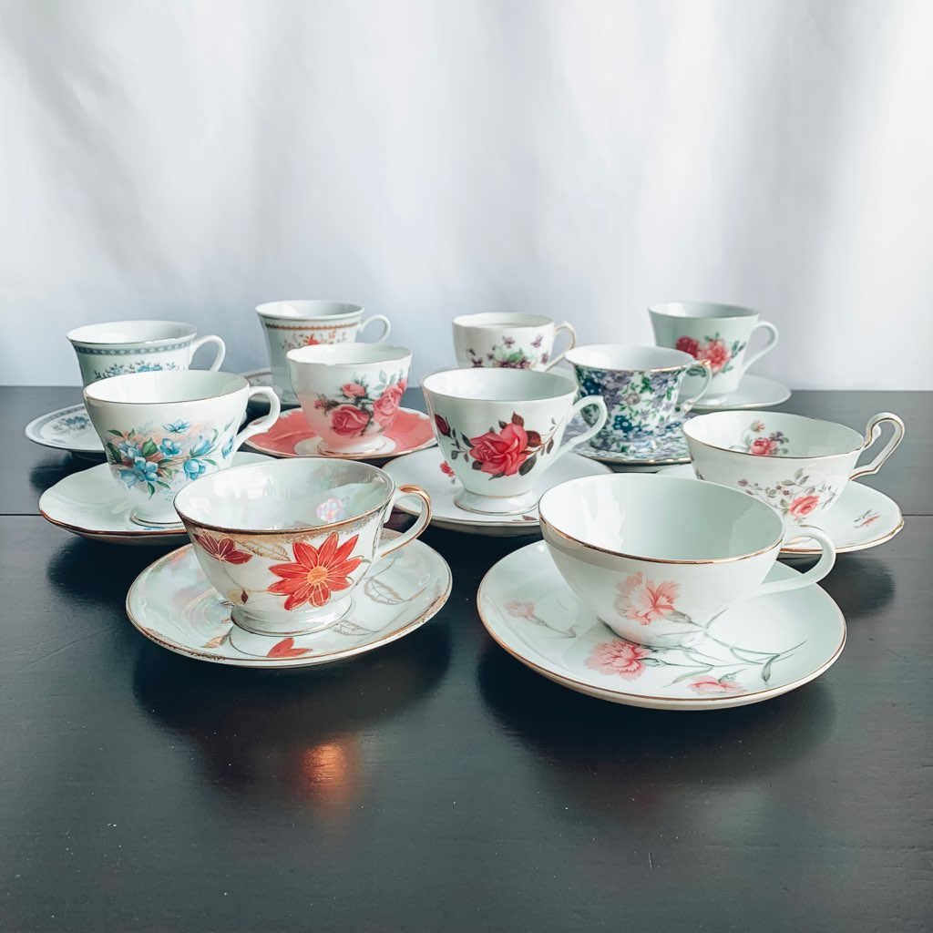 Tea Cups and Saucer Sets